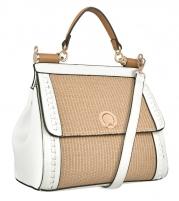 Handbag Verde 16-5503 Beige Handbag