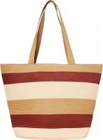 Handbag VERO MODA VMFREYA STRAW BAG Creme Brulee Handbag