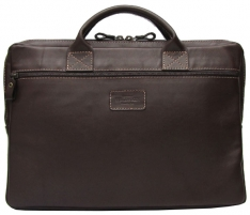 Handbag Wildskin Dark brown leather bag CAMPO Tabacco 20201405