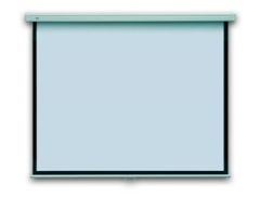 Rankinis projekcinis ekranas PROFI 177X177 sieninis Projektoriai