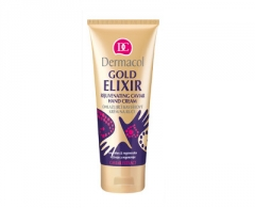 Rankų kremas Dermacol (Gold Elixir Rejuvenating Caviar Hand Cream) 75 ml