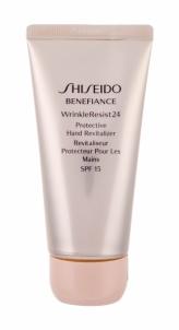 Rankų kremas Shiseido Benefiance Wrinkle Resist 24 Hand Cream 75ml SPF15 Rankų priežiūros priemonės