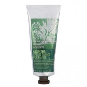 Rankų kremas The Body Shop Absinthe Purifying Hand Cream Cosmetic 100ml Rankų priežiūros priemonės