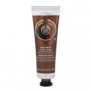 Rankų kremas The Body Shop Coconut Hand Cream Cosmetic 30ml Rankų priežiūros priemonės