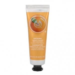 Rankų kremas The Body Shop Satsuma Hand Cream Cosmetic 30ml Rankų priežiūros priemonės
