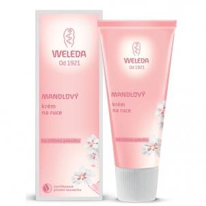 Rankų kremas Weleda Almond cream for sensitive skin hands 50 ml Rankų priežiūros priemonės