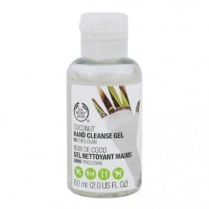 Rankų žele The Body Shop Coconut Hand Cleanse Gel Cosmetic 60ml Rankų priežiūros priemonės