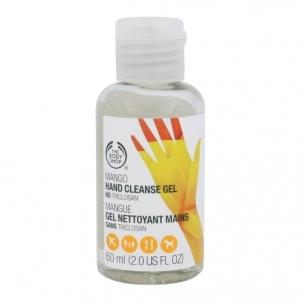 Rankų žele The Body Shop Mango Hand Cleanse Gel Cosmetic 60ml Rankų priežiūros priemonės