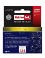 Rašalas ActiveJet AH-364YC | Yellow | 5 ml | HP HP 364 CB320EE