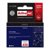 Rašalas ActiveJet AH-650BR | black | 20 ml | HP HP 650 CZ101AE