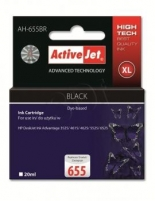 Rašalas ActiveJet AH-655BR | black | 20 ml | HP HP 655 CZ109AE