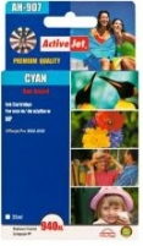 Rašalas ActiveJet AH-907 | Cyan | 35 ml | Refill | HP C4907AE