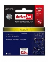 Rašalas ActiveJet AH-920YCX | Yellow | 12 ml | HP HP 920XL CD974AE