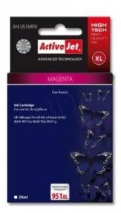 Rašalas ActiveJet AH-951MRX | Magenta | 25 ml | HP HP 951XL CN047AE