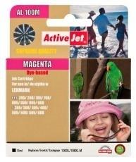 Rašalas ActiveJet AL-100M | Magenta | 13 ml | Lexmark 14N1070E