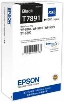 Rašalas Epson Black T7891 | 65 ml | WF-5110DW/WF-5190DW/WF-5620DWF/WF-5690DWF