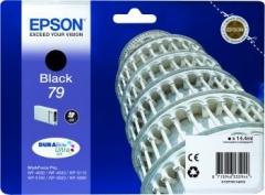 Rašalas Epson Black T7911 | 14 ml | WF-5110DW/WF-5190DW/WF-5620DWF/WF-5690DWF Toners and cartridges