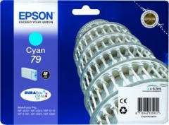 Rašalas Epson cyan T7912 | 7 ml | WF-5110DW/WF-5190DW/WF-5620DWF/WF-5690DWF