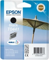 Rašalas Epson T0441 black | Stylus C64/66/66 Photo Edition/84/84N/84WiFi/86,CX36