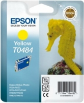 Rašalas Epson T0484 yellow | Stylus Photo R200/220/300/320/340,RX500/600/640