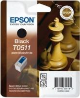 Rašalas Epson T0511 black | Stylus Color 740/760/800/850/860/1160/1520