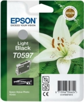 Rašalas Epson T0597 light black | Stylus Photo R2400