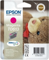 Rašalas Epson T0613 magenta DURABrite | Stylus D68 Photo Edition/88/88 Plus,DX38