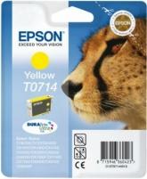 Rašalas Epson T0714 yellow DURABrite | Stylus D78/92/120/DX4000/4050/4400/4450/5