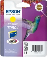 Rašalas Epson T0804 yellow   Stylus Photo R265/285/360,RX560/585/685