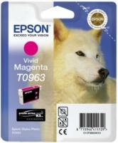 Rašalas Epson T0963 vivid magenta UltraChrome K3   Stylus Photo R2880