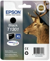 Rašalas Epson T1301 black | Stylus SX525WD/SX620FW/BX525WD/BX625FWD/BX925FWD