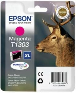 Rašalas Epson T1303 magenta | Stylus SX525WD/BX305F/BX320FW/BX625FWD