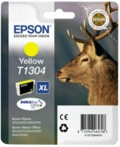 Rašalas Epson T1304 yellow | Stylus SX525WD/BX305F/BX320FW/BX625FWD