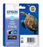 Rašalas Epson T1575 Light Cyan | 25,9 ml | R3000