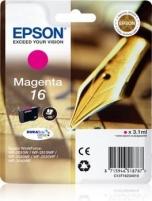 Rašalas Epson T1623 magenta DURABrite  | 3,1 ml | WF-2010/25x0