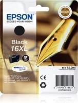 Rašalas Epson T1631 XL black DURABrite | 12,9 ml | WF-2010/25x0