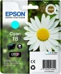 Rašalas Epson T1802 cyan | 3,3 ml | XP-102/202/205/302/305/402/405/405WH Toneriai ir kartridžai