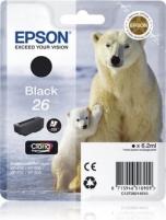 Rašalas Epson T2601 black Claria | 6,2 ml |XP-600/700/800
