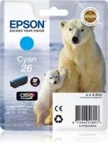 Rašalas Epson T2612 cyan Claria | 4,5 ml | XP-600/700/800