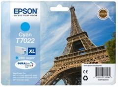 Rašalas Epson T702 cyan XL | 2000str | WP4000/4500