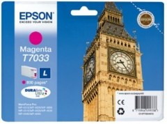 Rašalas Epson T703 magenta L | 800psl | WP4000/4500