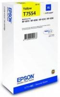 Rašalas Epson T7554 Yellow XL | WF-8010/WF-8090/WF-8510/WF-8590 Toneriai ir kartridžai