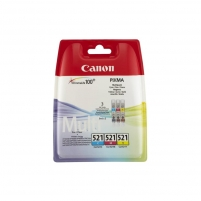 Inkpot Canon CLI521 Pack CMY | IP3600/IP4600/MP540/620/630/980