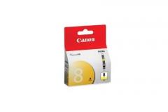 Rašalinė Canon CLI8Y yellow | 13ml | iP3300/4200/4300/5200/5300/6600/6700/MP500/