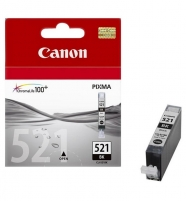 Inkpot CanonCLI521BK black | iP3600/iP4600/MP540/MP620/MP630/MP980 Toners and cartridges