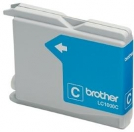Rašalo kasetė Brother LC1000C cyan   400psl   DCP330C/ DCP540CN/ MFC5460CN