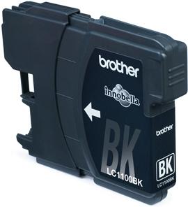 Rašalo kasetė Brother LC1100 black| 2vnt | DCP395CN/DCP585CW/DCP6690CW