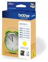 Rašalo kasetė Brother LC125XLY yellow   1200 pgs   MFC-J4510DW