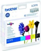 Rašalo kasetė Brother LC970 CMYK | DCP135/ DCP150/ MFC235/ MFC260