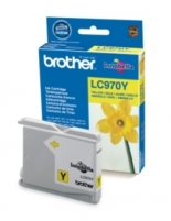 Rašalo kasetė Brother LC970Y yellow | 300psl | DCP135/ DCP150/ MFC235/ MFC260